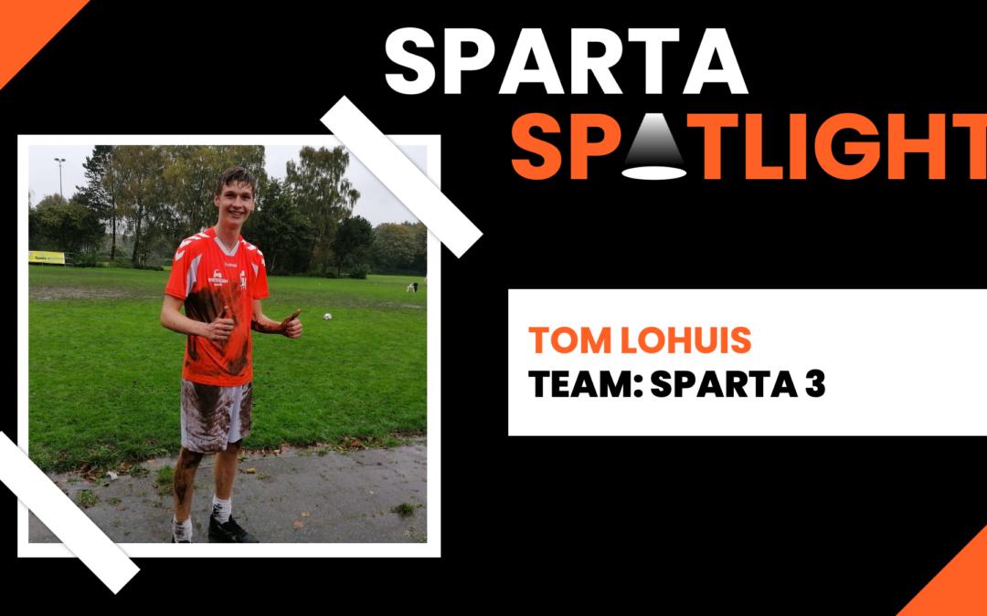 Sparta Spotlight: Tom Lohuis