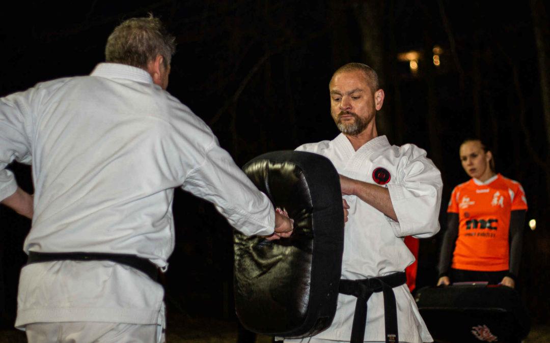 Foto's: Karatetraining A1 en selectie (onder de 27)