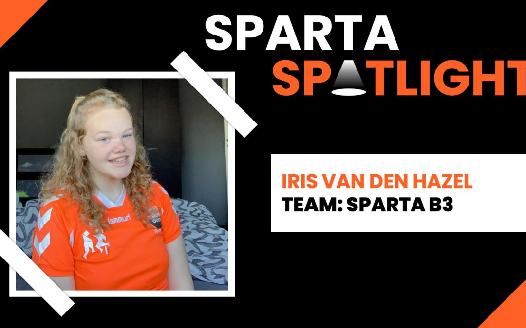 Sparta Spotlight: Iris van den Hazel