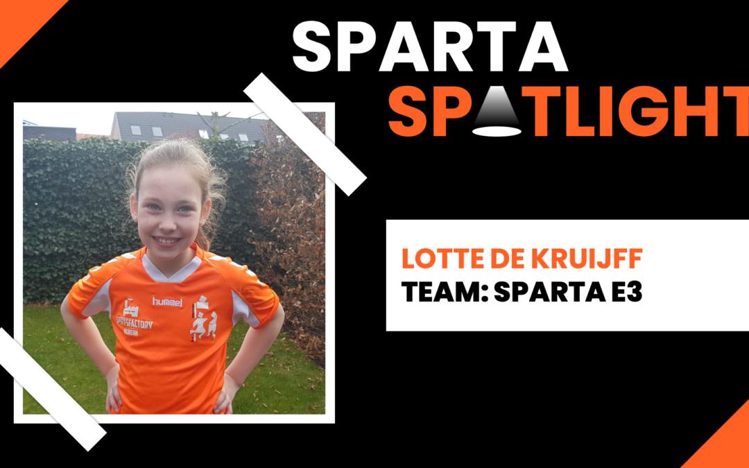 Sparta Spotlight: Lotte de Kruijff